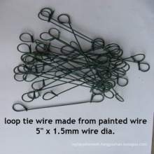 High Quality Galvanized Loop Tie Wire in Good Quality