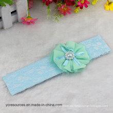 Bandas para la cabeza del bebé Chica linda del pelo: una flor, diadema de perlas