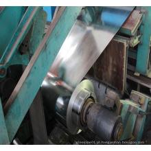 Bobina galvanizada DX51D + Z Chapa de aço galvanizado