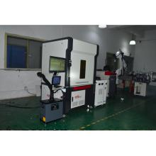 Machine de soudage à couplage de fibres optiques à double station de type portique