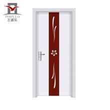 Qualidade garantida personalizar tamanho porta de madeira de aço eco-friendly