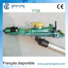 Hohe Auswirkung Energie Pneumatische Yt28 Yt24 Pusher Bein Bohrhammer