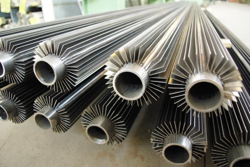 Longitudinal Finned Tubes Custom