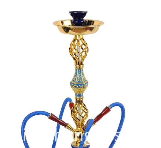 A beautiful glass hookah