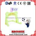Hot Plastic Slide und Schaukel mit Football Hoop