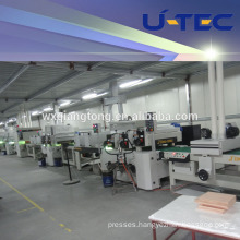 UV High Glossy Coating/painting Machin/Line with best price for kitchen cabinet / furniture