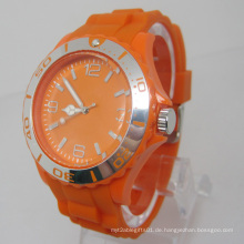 Neue Umweltschutz Japan Bewegung Kunststoff Mode Uhr Sj073-3