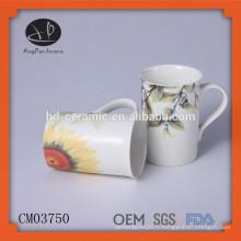 Tasses Type de boisson et matière en céramique tasse, tasse à café avec décalque, tasse à café avec impression, tasse en céramique chaozhou