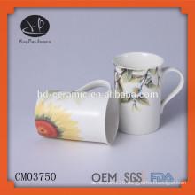 Mugs Drinkware Type and Ceramic Material mug,coffee mug with decal,coffee mug with printing,chaozhou ceramic mug