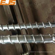 PVC extrusión bimetálico paralelo doble husillo barril