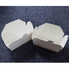 caja de almacenamiento plegable de empaquetado de comida rápida