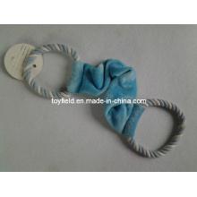 Dog Tug Toy Elastic Rope Plush Pet Toy