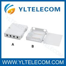 4 puertos 8 puertos FTTH fibra óptica terminación cuadro