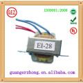 ЭИ-28 сертификат cqc и электрический трансформатор 220В 9В 100ма