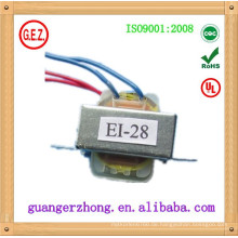 EI-28 CQC Zertifikat elektrischer Transformator 220V 9V 100mA