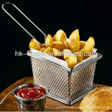New design fry basket,stainless steel strainer