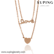 43029- Personalized Lovely Necklace Stainless Steel Style Necklace For Love