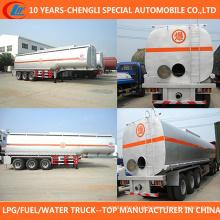 Sino 3 Axle 35-60cbm Fuel Tank Trailer para venda