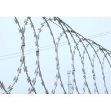 Galvanized Concertina Razor Barbed Wire Factory Manufacture