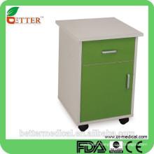 powder coated steel bedside locker