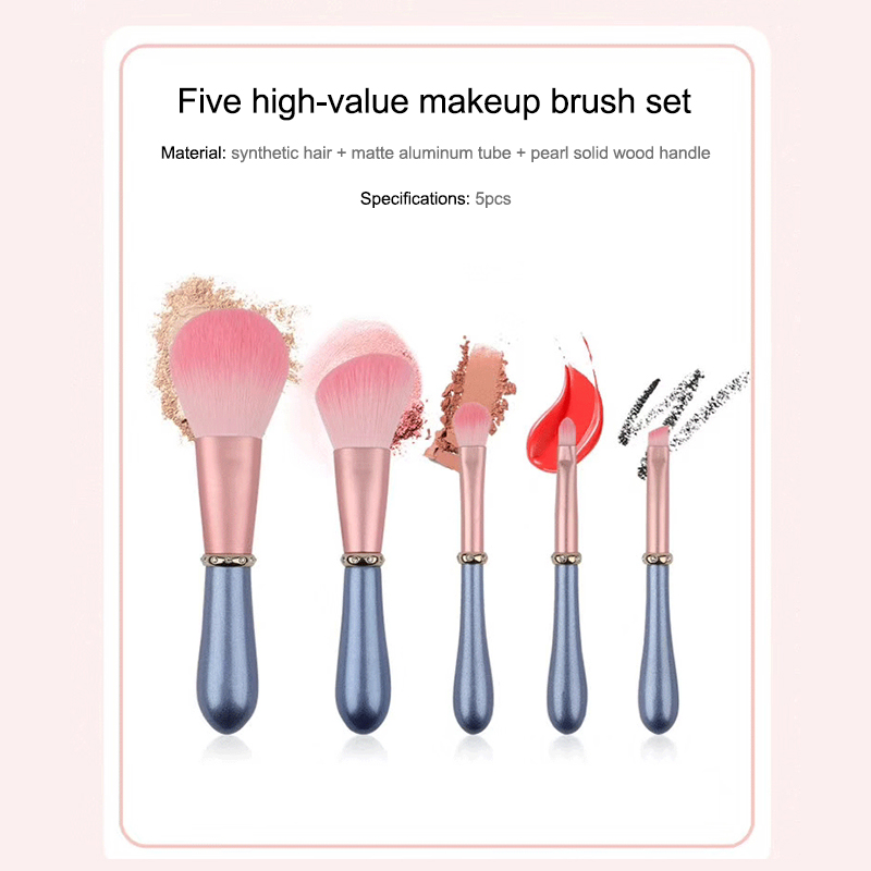 5pcs diamond makeup brushes