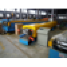 Alibaba Trade Assurance Downpipe de acero de lluvia Gutter Cold formando la máquina