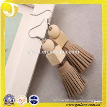 China Supplier Wedding Dresses lovely wooden Earring