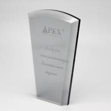 Trophée acrylique design personnalisé Apex Luxury pour la compétition