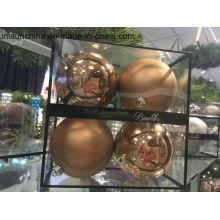 Boule de décoration de Noël en multi couleurs avec de nouveaux matériaux (OEM bienvenue)