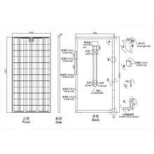 2014 novo sistema de energia solar em casa para casa (SGM-105W)