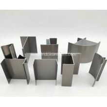 Perfil de aluminio para puerta de sala blanca