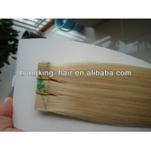popular and cheap tape weft human hair extension