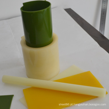 Rolo verde do plutônio / luz - barra amarela do plutônio / folha amarela do plutônio
