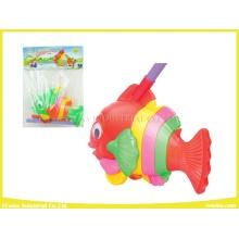 Push Pull Spielzeug Funny Fisch Kunststoff Spielzeug
