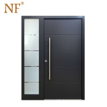 NF Aluminum Exterior Security Entrance Doors Front Doors Designs With Glass