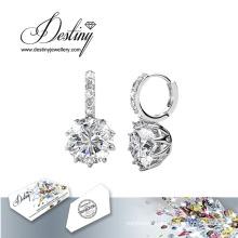 Destiny Jewellery Crystals From Swarovski Polygon Earrings