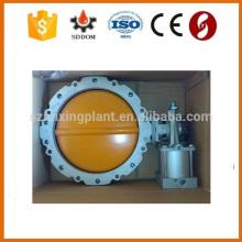 Acessório do silo do cimento Válvula de borboleta para a saída do cimento
