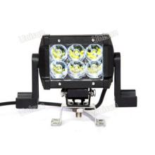 """Barra de luces LED todoterreno de doble fila de 12 V / 24 V 4,5 """"CREE 18 W"""