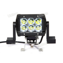 """12V/24V 4.5"""" CREE 18W Dual Row LED off Road Light Bar"""
