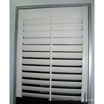 Reinforced Louver Components Aluminium Shutter Window