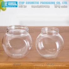 TJ-Q-Serie 240g und 300g dicken Bauch Farbe anpassbare guter Qualität Großhandel leere Pet jar für Gesichtsmaske
