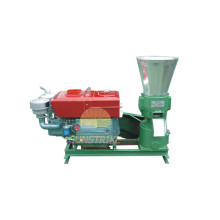 2015 nuevo tipo máquina de pellets de madera eléctrico y motor Diesel para la venta