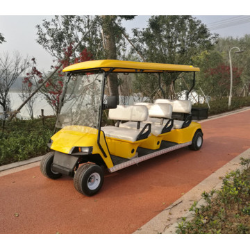 6 orang shuttle golf cart / shuttle mobil golf