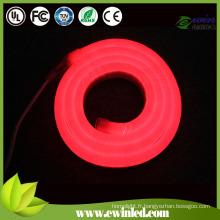 Lumière de corde au néon flexible à LED haute luminosité
