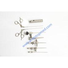 Otoscope vétérinaire de 0deg 2.7mm avec la poignée, la gaine et le forceps portatifs de lumière de LED