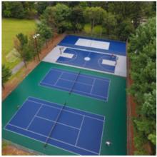 outdoor sports field flooring