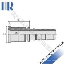 SAE Bride 6000 Psi Hydraulique Raccord de tuyau Appliqué avec R13 Tuyau (87613)