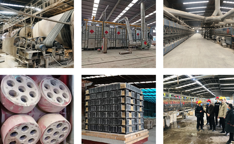 Wear Resistant Alumina Lining Mill Bricks