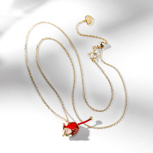 Top Quality Brand jewelry Mice Shaped zodiac Necklace For Clothes