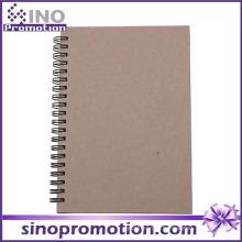 Venda Por Atacado Custom Cheap Spiral Chinese Notebook